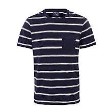 Buy Woolrich John Rich & Bros. Wotee Slub Jersey Stripe T-Shirt Online at johnlewis.com