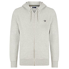 Buy Fred Perry Full Zip Loopback Hoodie Online at johnlewis.com