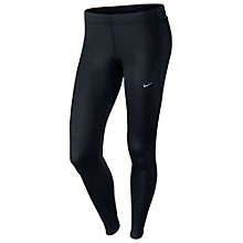 Buy Nike Tech Running Tights, Black Online at johnlewis.com