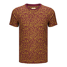 Buy JOHN LEWIS & Co. Tropical Leaf Slub T-Shirt Online at johnlewis.com