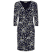 Buy Precis Petite Tulip Print Jersey Dress, Multi Dark Online at johnlewis.com