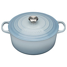 Buy Le Creuset Signature Cast Iron Round Casserole Online at johnlewis.com