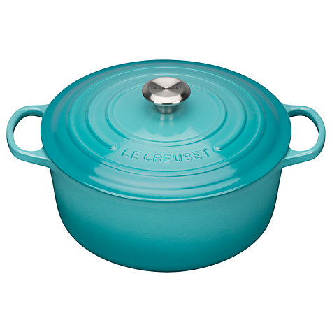 buy le creuset signature cast iron round casserole john lewis. Black Bedroom Furniture Sets. Home Design Ideas