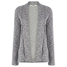 Buy Oasis Jersey Jacket, Mid Grey Online at johnlewis.com
