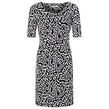 Buy Precis Petite Jacquard Dress, Multi Dark Online at johnlewis.com