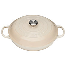 Buy NEW Le Creuset Signature Shallow Cast Iron Casserole, Dia.30cm Online at johnlewis.com