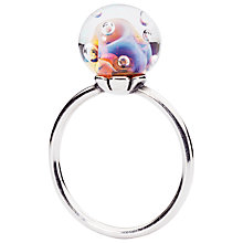 Buy Trollbeads Aurora Glass and Sterling Silver Ring, Multi Online at johnlewis.com