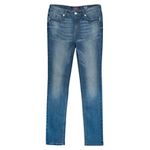 Buy Violeta by Mango Slim-Fit Susan Jeans Online at johnlewis.com