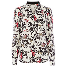 Buy Oasis Bird & Butterfly Shirt, Multi Online at johnlewis.com