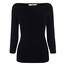 Buy Oasis Stitched Slash Neck Top Online at johnlewis.com