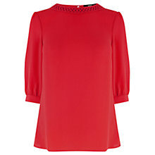 Buy Oasis Kara Long Sleeve Top Online at johnlewis.com