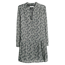 Buy Mango Ruffled Hem Dress, Black Online at johnlewis.com