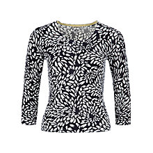 Buy Precis Petite Printed Petals Jumper, Multi Dark Online at johnlewis.com