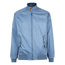 Buy Ben Sherman Cotton Zip Harrington Jacket Online at johnlewis.com