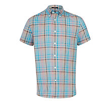 Buy Woolrich John Rich & Bros. Madras Check Short Sleeve Shirt Online at johnlewis.com