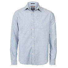 Buy Woolrich John Rich & Bros. Dobby Stripe Shirt, Off White Online at johnlewis.com
