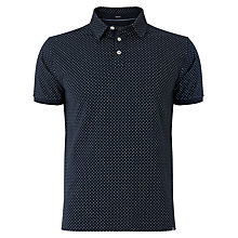 Buy Woolrich John Rich & Bros. Spot Pattern Polo Shirt, Midnight Navy Online at johnlewis.com