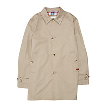 Buy Ben Sherman Cotton Mac, Beige Online at johnlewis.com