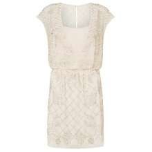 Buy Needle & Thread Aura Dress, Antique Rose Online at johnlewis.com