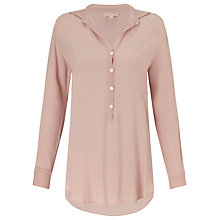Buy Ghost Longline Shirt, Mellow Rose Online at johnlewis.com