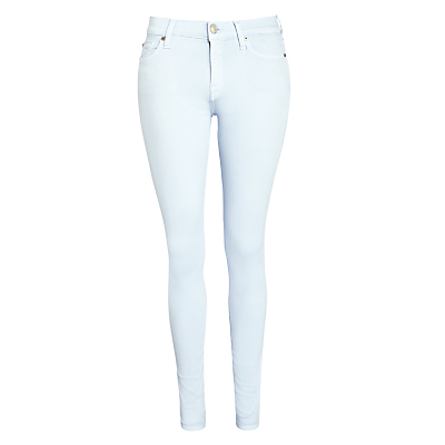 7 For All Mankind Skinny Slim Illusion Jeans, Pastel Blue