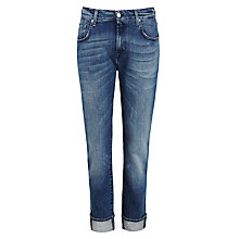 Buy 7 For All Mankind Relaxed Skinny Jeans, Alabama Mid Online at johnlewis.com
