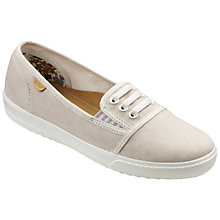 Buy Hotter Essmy Canvas Pumps Online at johnlewis.com