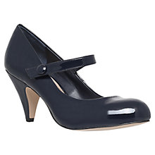 Buy Carvela Kollar Mary-Jane Court Shoes, Blue Online at johnlewis.com