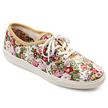 Buy Hotter Mabel Canvas Plimsolls Online at johnlewis.com