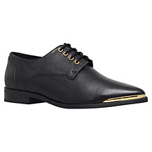 Buy KG by Kurt Geiger Lazarus Leather Pointed Lace-Up Shoes Online at johnlewis.com