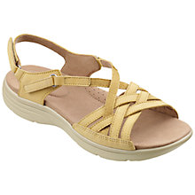 Buy Hotter Maisie Sandals, Light Olive Online at johnlewis.com
