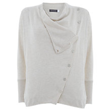 Buy Mint Velvet Knit Cardigan, Stone Online at johnlewis.com