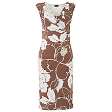 Buy Phase Eight Juliene Dress, Praline/Cream Online at johnlewis.com