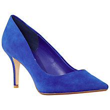 Buy Dune Alina Stiletto Suede Heeled Court Shoes Online at johnlewis.com