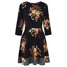 Buy Oasis Rose Dress, Navy Online at johnlewis.com