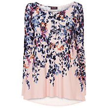 Buy Phase Eight Phillipa Longline Top, Pale Pink Online at johnlewis.com