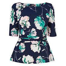 Buy Phase Eight Gina Top, Ink Online at johnlewis.com