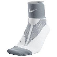 Buy Nike Elite Hyper-Lite Quarter Women's Running Socks Online at johnlewis.com
