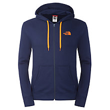Buy The North Face Open Gate Full Zip Hoodie, Blue Online at johnlewis.com