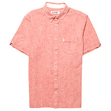 Buy Ben Sherman Flecked Linen Blend Shirt Online at johnlewis.com