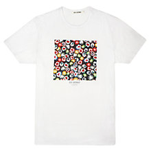 Buy Ben Sherman Candy Print T-Shirt, Bright White Online at johnlewis.com