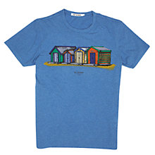 Buy Ben Sherman Beach Hunt Print T-Shirt, Dark Sky Marl Online at johnlewis.com