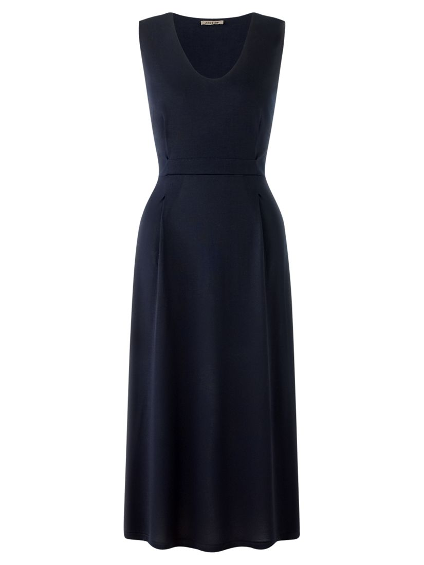 jigsaw modern fit and flare dress navy, jigsaw, modern, fit, flare, dress, navy, m|l|s, women, womens dresses, 1811167