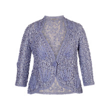 Buy Chesca Lace Cornellli Jacket, Lilac Online at johnlewis.com