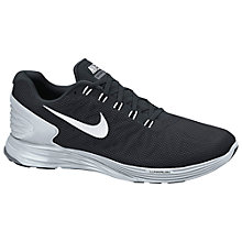 Buy Nike LunarGlide 6 Women's Running Shoes, Black Online at johnlewis.com