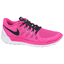 Buy Nike Free Run 5.0 Women's Running Shoes, Pink Online at johnlewis.com