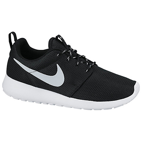 xcrixe Buy Nike Roshe One Women\'s Trainers, Black | John Lewis