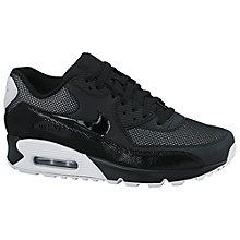 Buy Nike Air Max 90 Premium Women's Cross Trainers, Black Online at johnlewis.com