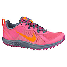 Buy Nike Wild Trail Running Shoes, Pink Online at johnlewis.com