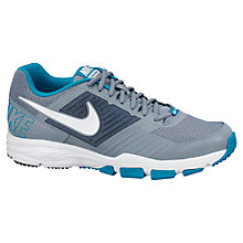 Buy Nike Air One 2 TR Men's Cross Trainers, Grey/Blue Online at johnlewis.com